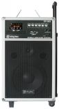 Karaoke PA audio systém CD/MP3/USB/SD, 2x VHF mikrofon, 450W