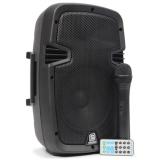 Skytec SPJ-PA 908, mobilní PA sestava s mikrofonem BT/VHF/USB/SD/MP3, 350W