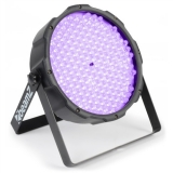 BeamZ LED FlatPAR reflektor, 186x 10mm UV, DMX
