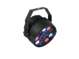 LED světelný efekt Eurolite LED Party spot 12x1W, DMX