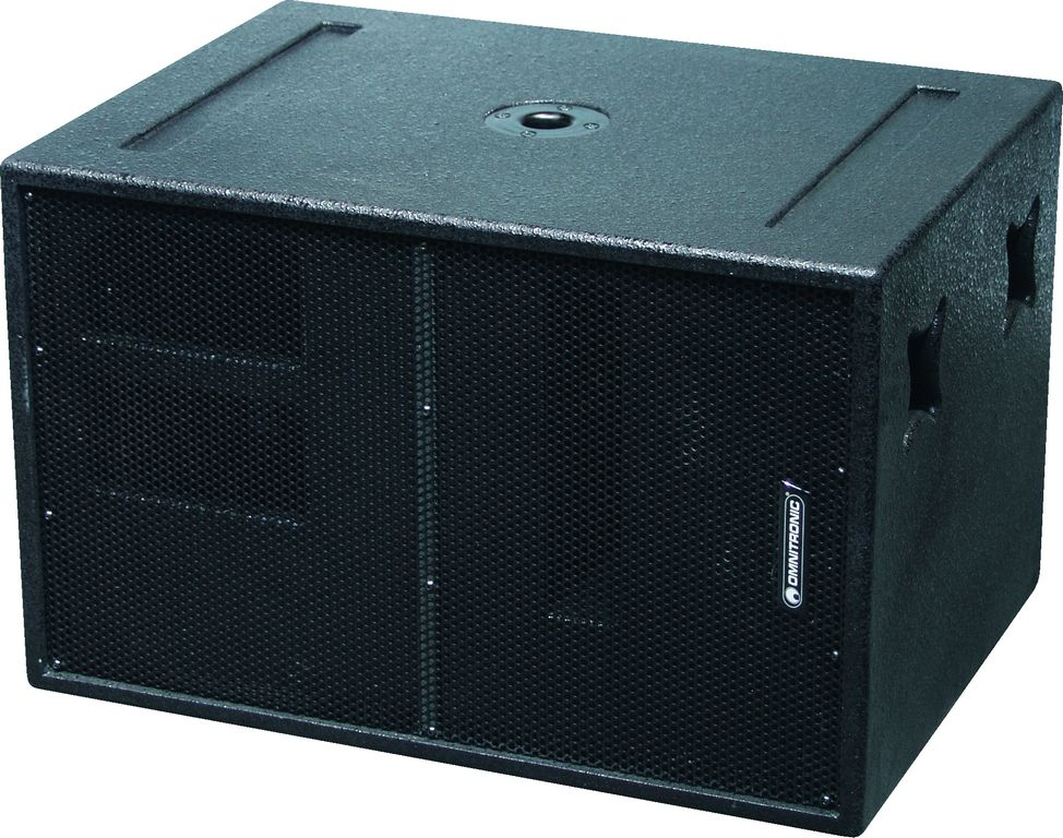 "15"" subwoofer 600 W RMS"