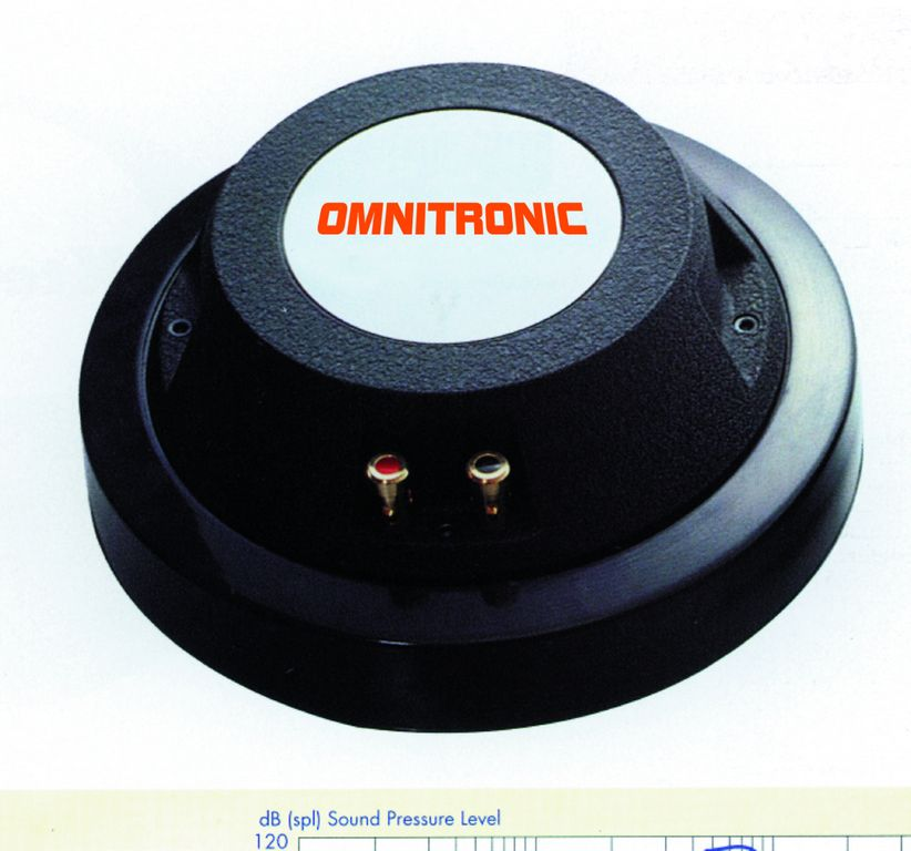 Tweeter, 100W, 8 Ohm, 110dB, 500 Hz - 20 kHz