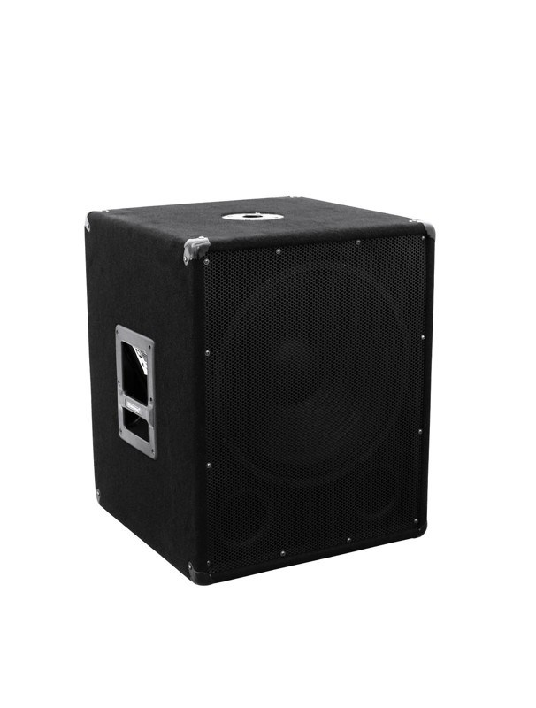 "15"" subwoofer 400 W RMS"