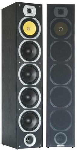 Skytec SHFT57B Tower speakerset 4x 6.5 black