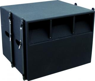 "15"" subwoofer, 500W RMS"