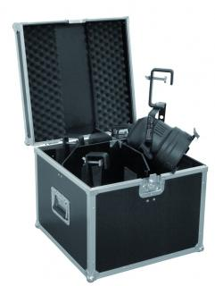 Flight case for 4 x PAR-56 spot