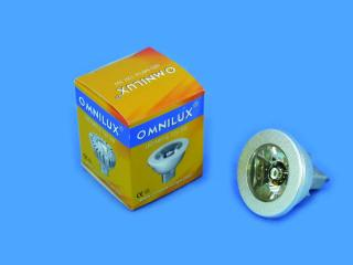 12V MR-16 GU-5.3 Omnilux, 3W LED zelený