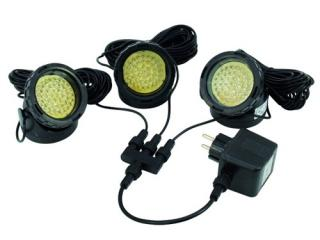 Eurolite WW-40 LED spot yellow (3 pcs.)