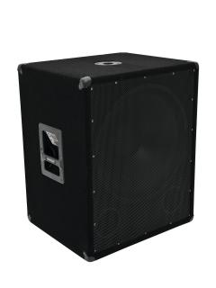 "18"" subwoofer 600 W RMS"