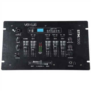 Vexus STM-2500 5-kanálový mix pult s USB/MP3/Bluetooth