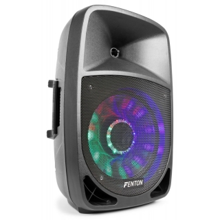 "Aktivní 12"" reprobox Fenton FT-12A LED BT/MP3/SD/USB, 250W"