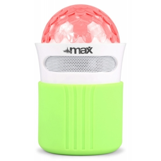 Max MX2 Bluetooth Jelly Ball, bezdrátový reprobox s LED, MP3, FM, BT