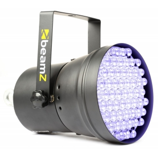 BeamZ LED PAR-36, 55x10mm UV LED reflektor, DMX